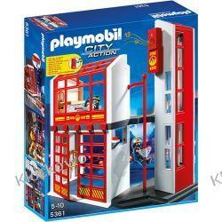 PLAYMOBIL 5361 KWATERA STRAŻY POŻARNEJ Z ALARMEM - CITY ACTION Playmobil