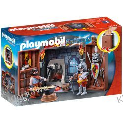 "PLAYMOBIL 5637 PLAY BOX ""KUŹNIA RYCERSKA"" - HISTORY Harry Potter"