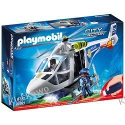 PLAYMOBIL 6921 HELIKOPTER POLICYJNY Z REFLEKTOREM LED - CITY ACTION Playmobil