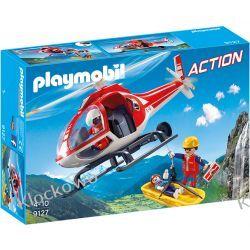 PLAYMOBIL 9127 HELIKOPTER RATOWNICTWA GÓRSKIEGO - ACTION Kompletne zestawy