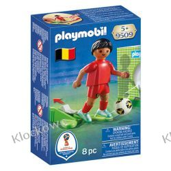 PLAYMOBIL 9509 PIŁKARZ REPREZENTACJI BELGII - FIFA WORLD CUP Pozostałe