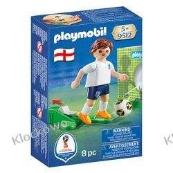 PLAYMOBIL 9512 PIŁKARZ REPREZENTACJI ANGLII - FIFA WORLD CUP Kompletne zestawy