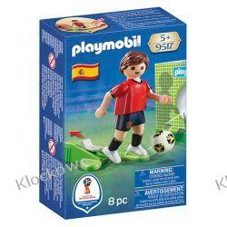 PLAYMOBIL 9517 PIŁKARZ REPREZENTACJI HISZPANII - FIFA WORLD CUP Friends