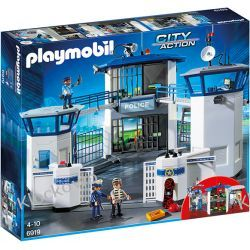 PLAYMOBIL 6919 KOMISARIAT POLICJI Z WIĘZIENIEM - CITY ACTION Playmobil