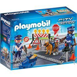 PLAYMOBIL 6924 BLOKADA POLICYJNA - CITY ACTION Ninjago