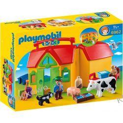 PLAYMOBIL 6962 MOJE PRZENOŚNE GOSPODARSTWO ROLNE - 1.2.3 Z zabawkami