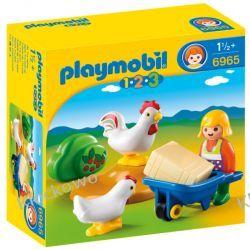 PLAYMOBIL 6965 GOSPODYNI Z KURCZAKAMI - 1.2.3 Playmobil