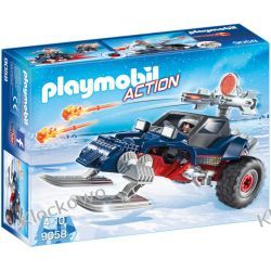 PLAYMOBIL 9058 POJAZD PŁOZOWY Z PIRATEM POLARNYM - ACTION Ninjago