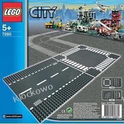 7280 PROSTA ULICA I SKRZYŻOWANIE KLOCKI LEGO CITY