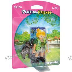 PLAYMOBIL 9074 OPIEKUNKA ZWIERZĄT Z GORYLĄTKIEM - PLAYMO-FRIENDS Dla Dzieci