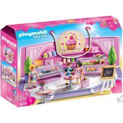 """PLAYMOBIL 9080 KAWIARNIA """"CUPCAKE"""" - CITY LIFE Dla Dzieci"""