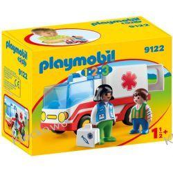 PLAYMOBIL 9122 KARETKA - 1.2.3
