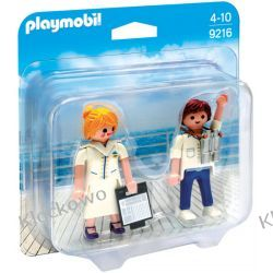 PLAYMOBIL 9216 DUO PACK: STEWARDESA I OFICER - FAMILY FUN Friends