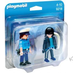 PLAYMOBIL 9218 DUO PACK: POLICJANT I ZŁODZIEJ - CITY ACTION Playmobil