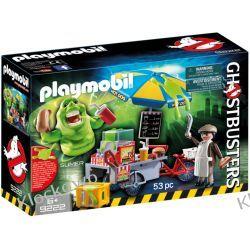 PLAYMOBIL 9222 SLIMER PRZY BUDCE Z HOTDOGAMI - GHOSTBUSTERS™ Z zabawkami