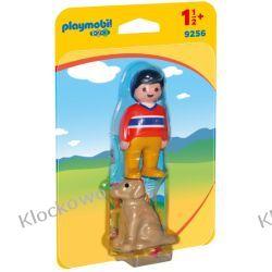 PLAYMOBIL 9256 MĘŻCZYZNA Z PSEM - 1.2.3 Playmobil