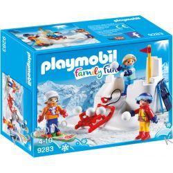 PLAYMOBIL 9283 BITWA NA ŚNIEŻKI - FAMILY FUN Playmobil