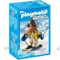 PLAYMOBIL 9284 NARCIARZ NA NARTACH SNOWBLADE - FAMILY FUN Kompletne zestawy