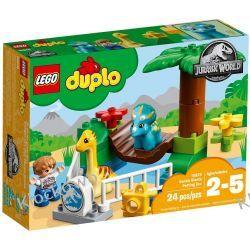 """10879 MINIZOO """"ŁAGODNE OLBRZYMY"""" (Gentle Giants Petting Zoo) - KLOCKI LEGO DUPLO JURASSIC WORLD Kompletne zestawy"""