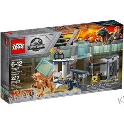 75927 UCIECZKA Z LABORATORIUM ZE STYGIMOLOCHEM (Stygimoloch Breakout) - KLOCKI LEGO JURASSIC WORLD Kompletne zestawy