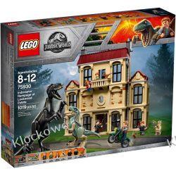 75930 ATAK INDORAPTORA (Indoraptor Rampage at Lockwood Estate) - KLOCKI LEGO JURASSIC WORLD