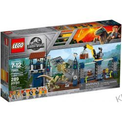75931 ATAK DILOFOZAURA NA POSTERUNEK (Dilophosaurus Outpost Attack) - KLOCKI LEGO JURASSIC WORLD Kompletne zestawy