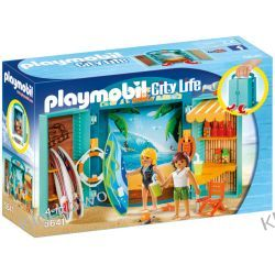 "PLAYMOBIL 5641 PLAY BOX ""SKLEP SURFINGOWY"" - FAMILY FUN"