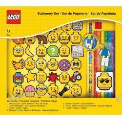 51180 ZESTAW ARTYKUŁÓW SZKOLNYCH Z BLOKIEM - LEGO GADŻETY Kompletne zestawy