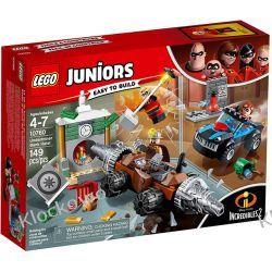 10760 NAPAD CZŁOWIEKA SZPADŁA NA BANK (Underminer's Bank Heist) - KLOCKI LEGO JUNIORS INIEMAMOCNI Friends