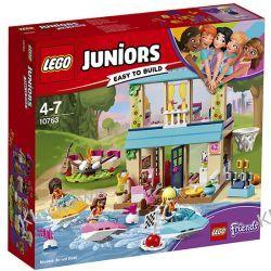 10763 DOMEK NAD JEZIOREM STEPHANIE (Stephanie's Lakeside House) - KLOCKI LEGO JUNIORS Kompletne zestawy