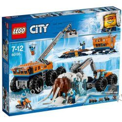 60195 ARKTYCZNA BAZA MOBILNA (Arctic Mobile Exploration Base) KLOCKI LEGO CITY Playmobil