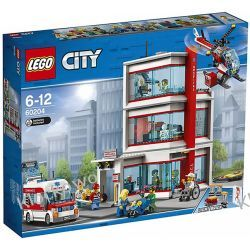 60204 SZPITAL (Hospital) KLOCKI LEGO CITY Friends