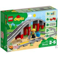 10872 TORY KOLEJOWE I WIADUKT (Train Bridge and Tracks) KLOCKI LEGO DUPLO  Atlantis