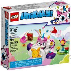 41451 CHMURKOWY POJAZD KICI ROŻEK™ (Unikitty Cloud Car) KLOCKI LEGO UNKITTY Kompletne zestawy