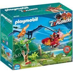 PLAYMOBIL 9430 HELIKOPTER Z PTERODAKTYLEM - THE EXPLORERS Playmobil