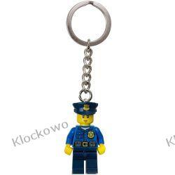 850933 BRELOK POLICJANT (City Policeman Keychain) LEGO® City Playmobil