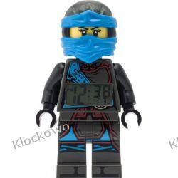 9009303 - ZEGAR LEGO NINJAGO - NYA (Minifigure Clock)