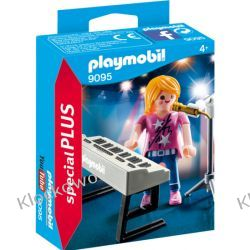 PLAYMOBIL 9095 PIOSENKARKA Z KEYBOARDEM - SPECIAL PLUS Friends