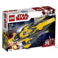 75214 JEDI STARFIGHTER ANAKINA (Anakin's Jedi Starfighter) - KLOCKI LEGO STAR WARS  Ninjago