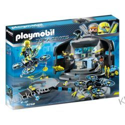 PLAYMOBIL 9250 CENTRUM DOWODZENIA DR. DRONE'A - TOP AGENTS