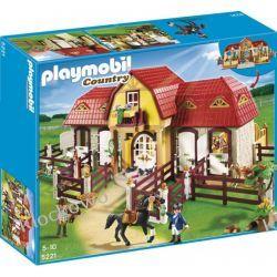 PLAYMOBIL 5221 DUŻA STADNINA Z BOKSAMI STAJENNYMI - COUNTRY Playmobil