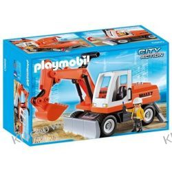 PLAYMOBIL 6860 KOPARKA KOŁOWA - CITY ACTION Playmobil