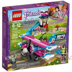 41343 LOT NAD HEARTLAKE (Heartlake City Airplane Tour) KLOCKI LEGO FRIENDS Ninjago