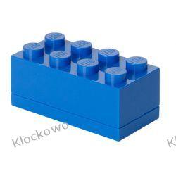 MINI POJEMNIK LEGO 8 NIEBIESKI- LEGO POJEMNIKI Dla Dzieci