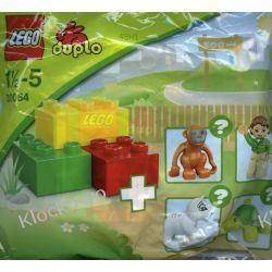30064 LOSOWA FIGURKA DUPLO (ZOO) KLOCKI LEGO MINI BUILDS