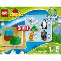 30322 LOSOWA FIGURKA DUPLO (DOOKOŁA ŚWIATA) KLOCKI LEGO MINI BUILDS Policja