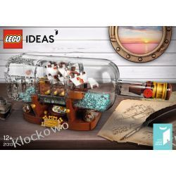 21313 STATEK W BUTELCE (Ship in a Bottle) KLOCKI LEGO IDEAS Atlantis