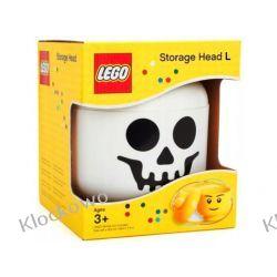 POJEMNIK LEGO GŁÓWKA S SZKIELET - LEGO POJEMNIKI Kompletne zestawy