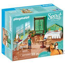 PLAYMOBIL 9476 SYPIALNIA LUCKY - SPIRIT