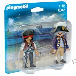 PLAYMOBIL 6846 DUO PACK: PIRAT I ŻOŁNIERZ - CITY ACTION